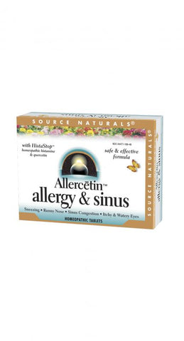 Source Naturals Allercetin Allergy & Sinus