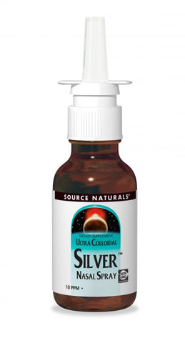 Source Naturals Ultra Colloidal Silver Nasal Spray 10 ppm