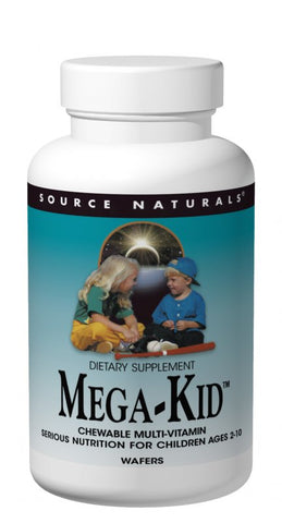 Source Naturals MegaKid Children's Chewable
