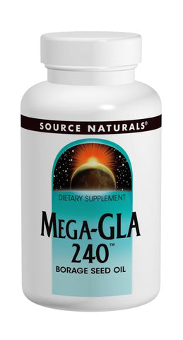 Source Naturals Mega-GLA 240 Borage Seed Oil