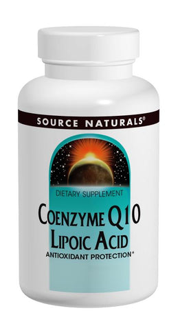 Source Naturals Coenzyme Q10/Lipoic Acid/30 mg