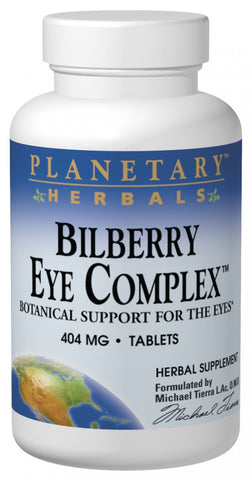 Planetary Herbals Bilberry Eye Complex 404 mg
