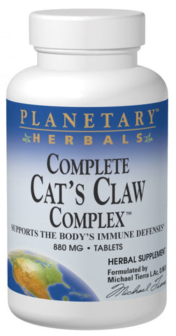 Planetary Herbals Complete Cat's Claw Complex 855 mg
