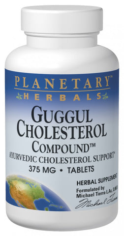 Planetary Herbals Guggul Cholesterol Compound 375 mg