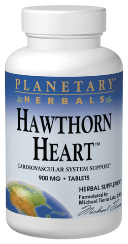Planetary Herbals Hawthorn Heart 900 mg