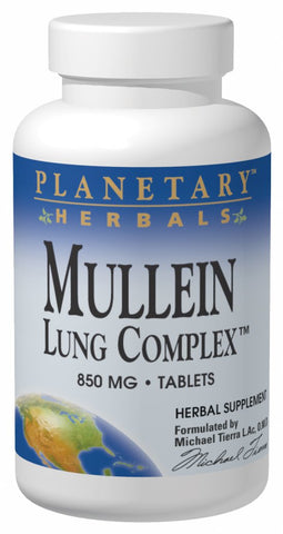 Planetary Herbals Mullein Lung Complex 850 mg
