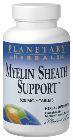 Planetary Herbals Myelin Sheath Support 820 mg