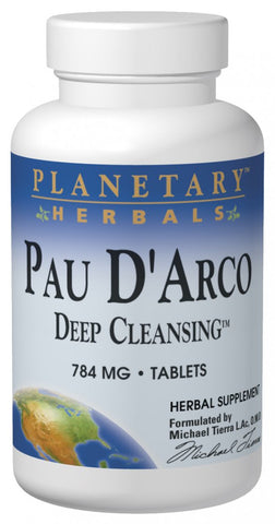 Planetary Herbals Pau D'Arco Deep Cleansing 735 mg