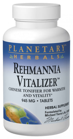Planetary Herbals Rehmannia Vitalizer 750 mg