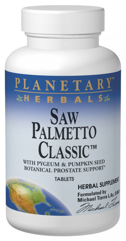 Planetary Herbals Saw Palmetto Classic