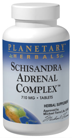 Planetary Herbals Schisandra Adrenal Complex 710 mg