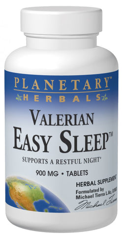 Planetary Herbals Valerian Easy Sleep 900 mg