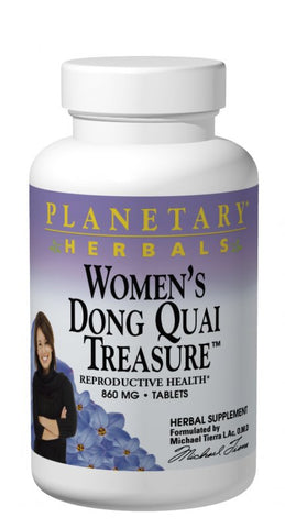 Planetary Herbals Women's Dong Quai Treasure 860 mg