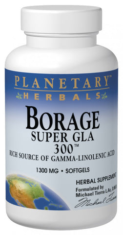 Planetary Herbals Borage Super GLA 300 1300 mg