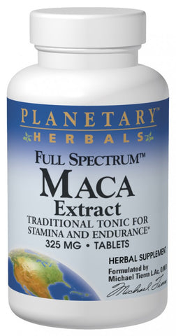 Planetary Herbals Maca Extract (Full Spectrum) 325 mg