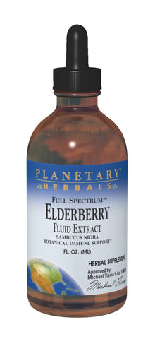 Planetary Herbals Elderberry Fluid Extract (Full Spectrum)