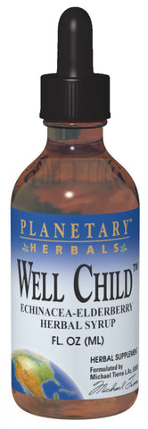 Planetary Herbals Well Child Echinacea-Elderberry