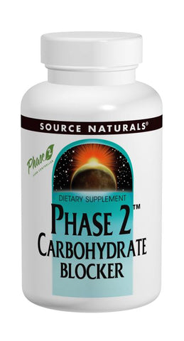 Source Naturals Phase 2 Carbohydrate Blocker Chewable Wafers