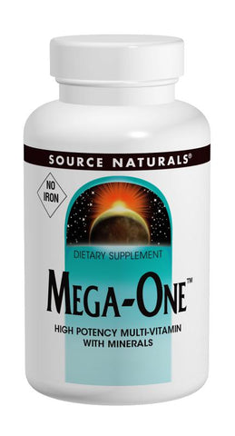 Source Naturals Mega-One No Iron