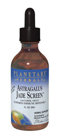 Planetary Herbals Astragalus Jade Screen, Alcohol Free