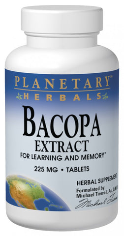 Planetary Herbals Bacopa Extract 225 mg