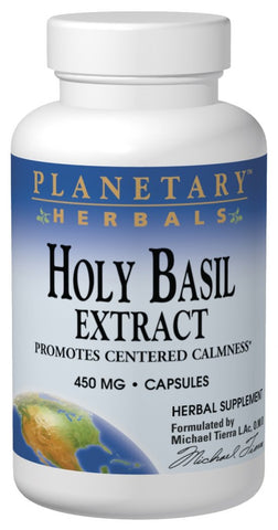 Planetary Herbals Holy Basil Extract 450 mg