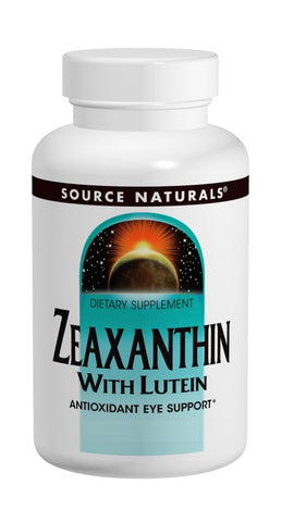 Source Naturals Zeaxanthin with Lutein