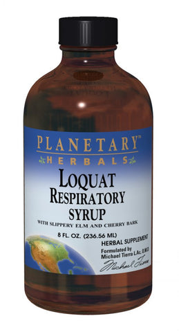 Planetary Herbals Loquat Respiratory Syrup