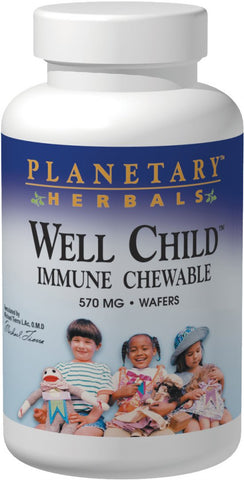 Planetary Herbals Well Child Immune Chewable 570 mg