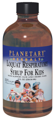 Planetary Herbals Loquat Respiratory for Kids