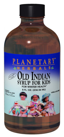 Planetary Herbals Old Indian Syrup for Kids (Cherry)
