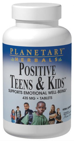Planetary Herbals Positive Teens & Kids 435 mg