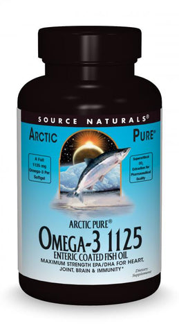 Source Naturals ArcticPure Omega-3 1125 Enteric Coated Fish Oil