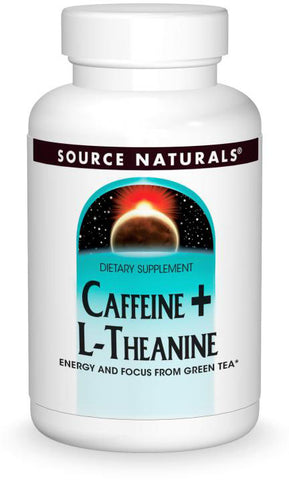 Source Naturals Caffeine + L-Theanine