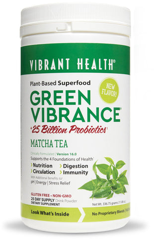 Vibrant Health Green Vibrance - Matcha Tea