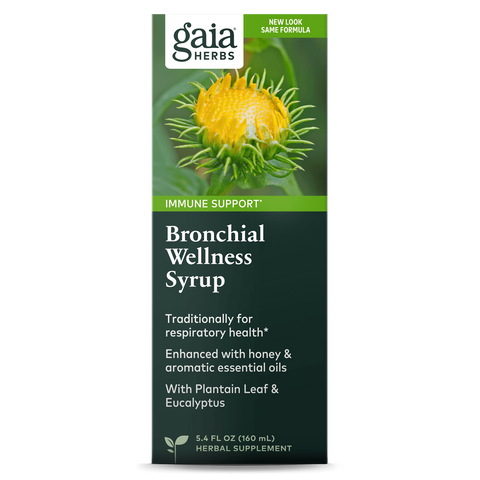 Gaia Herbs Bronchial Wellness Syrup