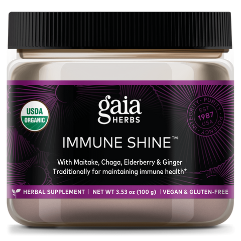 Gaia Herbs Immune Shine (EXP 03/2021 -- NO RETURNS)