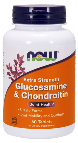 NOW Glucosamine & Chondroitin Sulfate Extra Strength