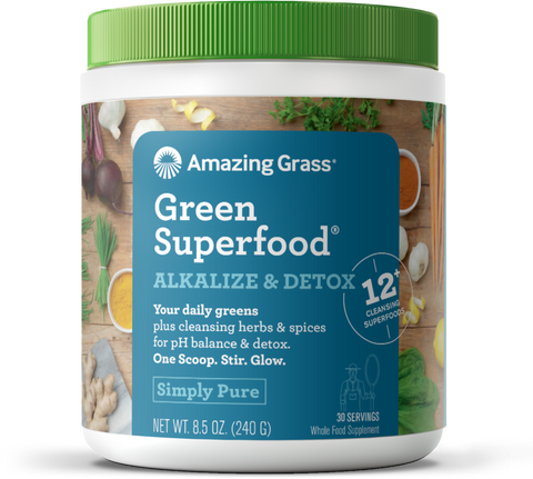Amazing Grass Green SuperFood - Alkalize & Detox
