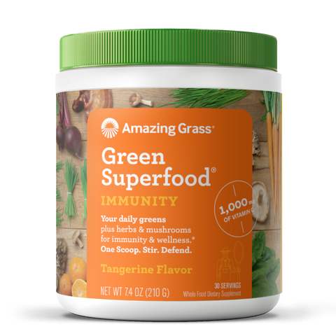 Amazing Grass Green SuperFood - Immunity Tangerine