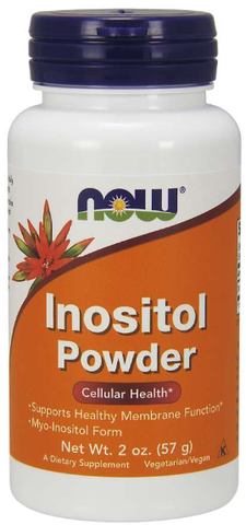 NOW Inositol Powder, Vegetarian
