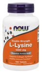 NOW L-Lysine, Double Strength 1000 mg Tablets