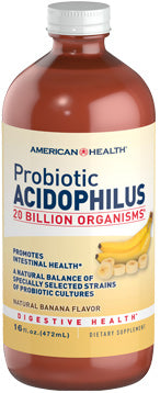 American Health Probiotic Acidophilus Liquid - Banana
