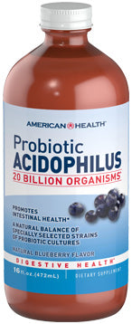 American Health Probiotic Acidophilus Liquid - Blueberry
