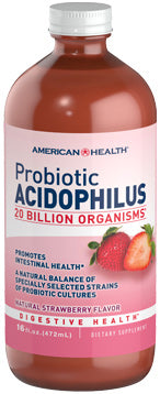 American Health Probiotic Acidophilus Liquid - Strawberry