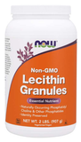 NOW Lecithin Granules, Non-GMO
