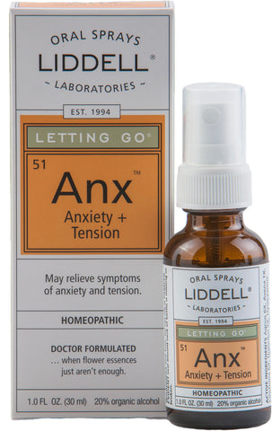 Liddell Laboratories Letting Go - Anxiety + Tension (Anx)