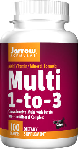 Jarrow Formulas Multi 1-to-3 (Iron Free)