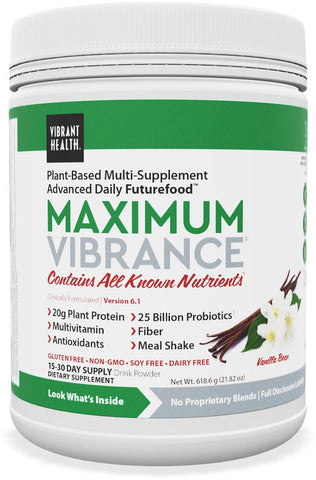 Vibrant Health Maximum Vibrance - Vanilla Bean