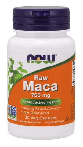 NOW Maca 750 mg Raw